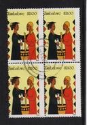 Zimbabwe 2003, 4-block, Minr 767, Vfu. Cv 26 Euro - Zimbabwe (1980-...)