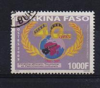 Burkina Faso 2009, 1000 Francs, Cinema, Minr 1922, Vfu. Cv Undetermined - Burkina Faso (1984-...)