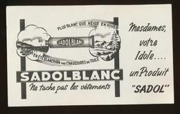 Buvard - SADOLBLANC - Produit SADOL - Blotters