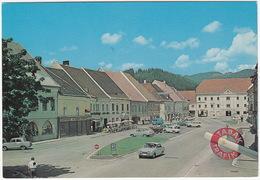 Kärnten: FORD TAUNUS 17M P3, RENAULT DAUPHINE, OPEL OLYMPIA REKORD & P2, VW KOMBI-BUS - Völkermarkt -  (Austria) - PKW