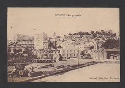DF / ALGERIE / BOUGIE / VUE GENERALE ET SOCIETE GENERALE DE TRANSPORTS MARITIMES À VAPEUR - Bejaia (Bougie)
