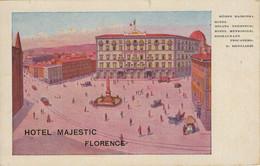 HOTEL  MAJESTIC   FLORENCE     (NUOVA) - Firenze