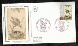 CROIX ROUGE FRANCAISE . SOIERIE DE LYON . 18 NOVEMBRE 1989 . LYON . - FDC