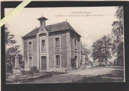 Vienne - Mondion - Mairie Et Monument Aux Morts De La Guerre - éd Roy - Autres Communes