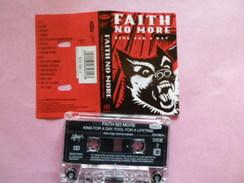 FAITH NO MORE K7 AUDIO VOIR PHOTO...ET REGARDEZ LES AUTRES (PLUSIEURS) - Audio Tapes
