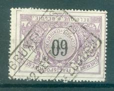 """BELGIE - OBP Nr TR 22 - Cachet  """"BRUXELLES - CH. DE LOUVAIN"""" - (ref. AD-9991) - Chemins De Fer"""