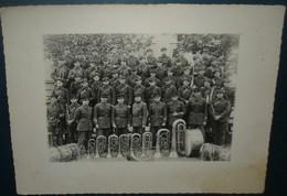 Photo Non Située,musique Militaire - Guerra, Militares