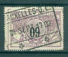 """BELGIE - OBP Nr TR 22 - Cachet  """"BRUXELLES - Q.L."""" - (ref. AD-9994) - Chemins De Fer"""