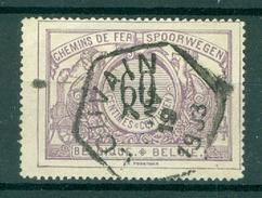 """BELGIE - OBP Nr TR 22 - Cachet Hexagonal  """"LOUVAIN"""" - (ref. AD-9998) - Chemins De Fer"""