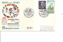 Hockey Sur Patins ( Commémoratif D'Espagne De 1960 à Voir)