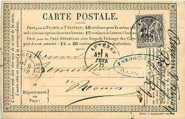 Cpa Précurseur 1877 De AUXERRE 89 à Rouen - Auxerre