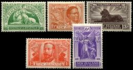 NOUVELLE-ZELANDE - N°169/174 - Neuf * TB - 1907-1947 Dominion