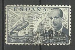 SPAIN..1939..Michel # 827...used. - 1931-50 Oblitérés