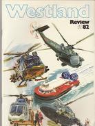 Catalogue Brochure Officiel WESTLAND Hélicoptère Militaire Hovercraft  1982 - Aviation