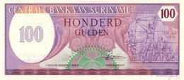 SURINAME 100 GULDEN 1985 P-128b NEUF [SR514b] - Surinam