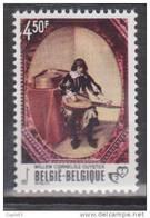 "Belgique N° 1827 ** Tableau De Willem Cornelis Duyster - ""Le Jeune Musicien"" - 1976 - Unused Stamps"