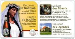 Goliath. Madame 2015. Ath. Géante - Reuzin. Découvrez La Tradition En Visitant Maison Des Géants Et Brasserie Légendes.. - Sous-bocks