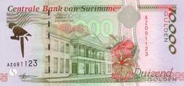 * SURINAME 10000 GULDEN 1997 P-145 UNC [SR530b] - Surinam