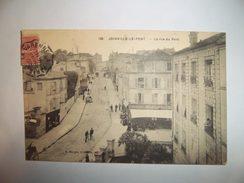 5beb - CPA N°126 - JOINVILLE-LE-PONT- La Rue Du Pont - [94] - Val De Marne - - Joinville Le Pont