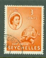 Seychelles: 1954/61   QE II - Pictorial    SG175    3c     Used - Seychelles (...-1976)