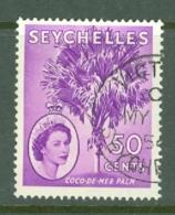 Seychelles: 1954/61   QE II - Pictorial    SG183    50c       Used - Seychelles (...-1976)
