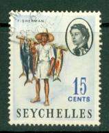 Seychelles: 1962/68   QE II - Pictorial    SG198    15c     Used - Seychelles (...-1976)
