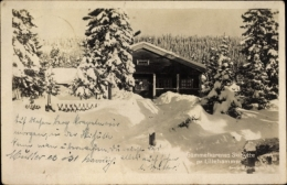 Cp Lillehammer Norwegen, Gammelkarenes Skihütte, Winter, Schnee - Norvegia