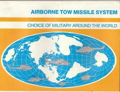 Catalogue Brochure Officiel Missile Pour Hélicoptère Par Hughes Aircraft C° - Aviation