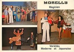 Ref U469- Size -format -env:15x10,5cms - Artistes - Magie -morelly Magicien -variete Moderne Et Japonaise -japon - - Non Classificati