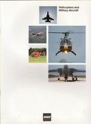 Catalogue Brochure Officiel Hélicoptère Avion Militaire MBB + Une Plaquette Sur Le BK 117-A3 - Aviation