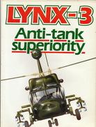 Plaquette Officielle  Hélicoptère Lynx 3 Anti Tank De Westland + Courrier De Trois Pages - Luchtvaart
