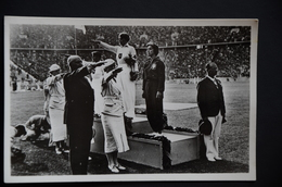 BERLIN JEUX OLYMPIQUES 1936  Podium JAVELOT Or Tilly FLEISCHER ArgentLuise KRUGER BronzeMaria  KWASNIEWSKA - Deutschland