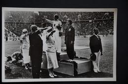 BERLIN JEUX OLYMPIQUES 1936  Podium JAVELOT Or Tilly FLEISCHER ArgentLuise KRUGER BronzeMaria  KWASNIEWSKA - Unclassified