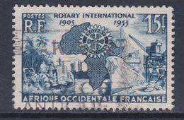 A. O. F. N° 53  O Cinquantenaire Du Rotary International Oblitération Légère Sinon  TB