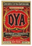 étiquette  Ancienne Chicorée  Extra Supérieure Dya Ce Paquet Contient Un Bon Prime - Fruits & Vegetables
