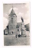 Wellen Parochie Kerk  En 1914 - 1918 Standbeeld 1940 -44 - Wellen