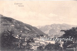 MARRADI_Firenze_Panorama__Vg Il 25 Agosto1908 X Argenta-Originale 100%-2 Scan - Firenze