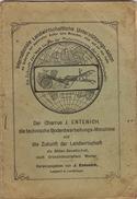 Brochure Der Charrue J. Entenich à Leudelingen Luxembourg Matériel Agricole Feld Kraftwagen - Luxembourg
