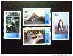 SOUTH GEORGIA - SOUTH SANDWICH ISLANDS 1994 FAUNE ANTARCTIQUE Yvert N º 251 / 254 ** MNH - Georgias Del Sur (Islas)