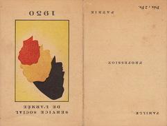 Calendrier Militaire Service Social De L'armée Belge - Calendars