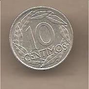 Spagna - Moneta Circolata Da 10 Centesimi - 1959 - [ 5] 1949-… : Regno