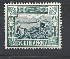 Sud Africa  1938 Voortrekkers 100th Anniversary Commemoration    USED - Oblitérés