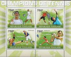 Togo MNH Tennis Sheetlet And SS - Tennis