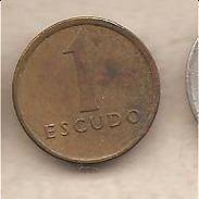 Portogallo - Moneta Circolata Da 1 Scudo - 1983 - Portogallo
