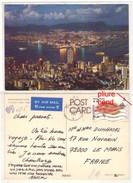 GF (Chine) Hong Kong 036, Hong Kong Night Scene From Peak, Le Timbre A Un Coin Plié - Cina (Hong Kong)