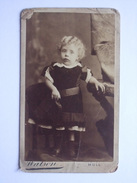 CDV - Child Portrait - Watson  - Hull - 10 X 6 Cms - Anonymous Persons