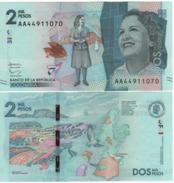 COLOMBIA  New  2000 Pesos    Pnew   (2016)    UNC - Colombie