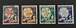 1933 Pour Les Enfants Serie Bienfaisance Mi.-Nr. 268-271 - Oblitérés