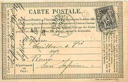 Cpa Précurseur 1877 De LA FERTE MACE 61 à Rouen - La Ferte Mace