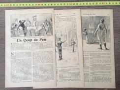 ENV 1900 UN COUP DE FEU D ALEXANDRE DUMAS ILLUSTRATIONS DE R DE LA NEZIERE - Old Paper